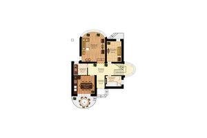 Продается дом на 2 этажа 229 кв. м с бассейном