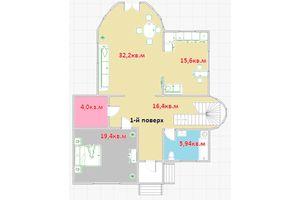 Продается дом на 2 этажа 351.5 кв. м с беседкой