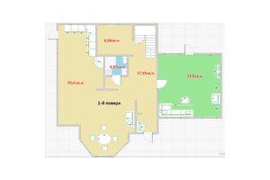 Продается дом на 2 этажа 217 кв. м с баней/сауной