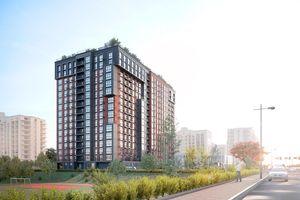 Продается 1-комнатная квартира 43.6 кв. м в Киеве