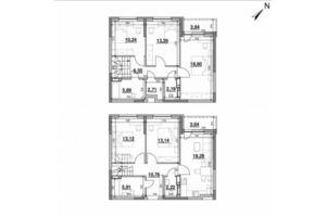 Продается 5-комнатная квартира 130.19 кв. м в Киеве