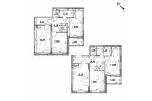 Продається 5-кімнатна квартира 139.49 кв. м у Києві