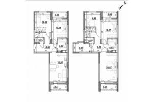 Продається 5-кімнатна квартира 144.47 кв. м у Києві