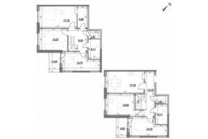 Продается 5-комнатная квартира 140.47 кв. м в Киеве