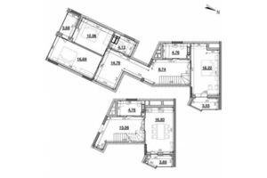 Продается 3-комнатная квартира 126.03 кв. м в Киеве