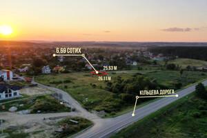 Продается земельный участок 6.69 соток в Львовской области