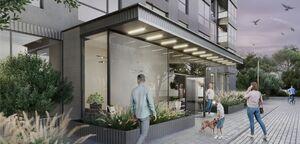 Продається нежитлове приміщення в житловому будинку 58.4 кв. м в 25-поверховій будівлі