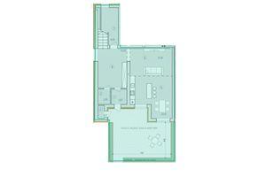 Продається 4-кімнатна квартира 144.9 кв. м у Тернополі