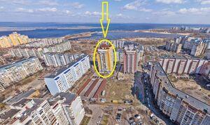 Продается 3-комнатная квартира 111 кв. м в Черкассах