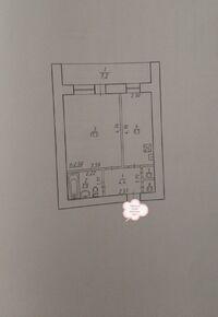 Продается 1-комнатная квартира 38 кв. м в Сумах