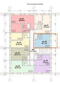 Продается 1-комнатная квартира 28.1 кв. м в Днепре