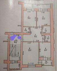 Продається 3-кімнатна квартира 84 кв. м у Тернополі