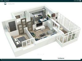 Продается 2-комнатная квартира 53 кв. м в Сумах