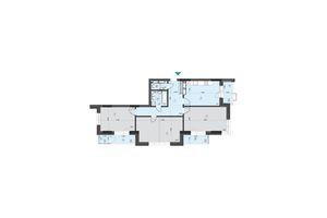 Продается 3-комнатная квартира 103.63 кв. м в Киеве
