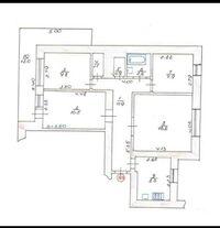 Продается 4-комнатная квартира 74 кв. м в Луцке
