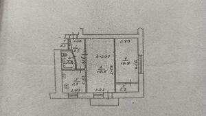 Продается 2-комнатная квартира 42.6 кв. м в Полтаве