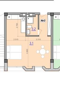 Продается помещения свободного назначения 38 кв. м в 8-этажном здании