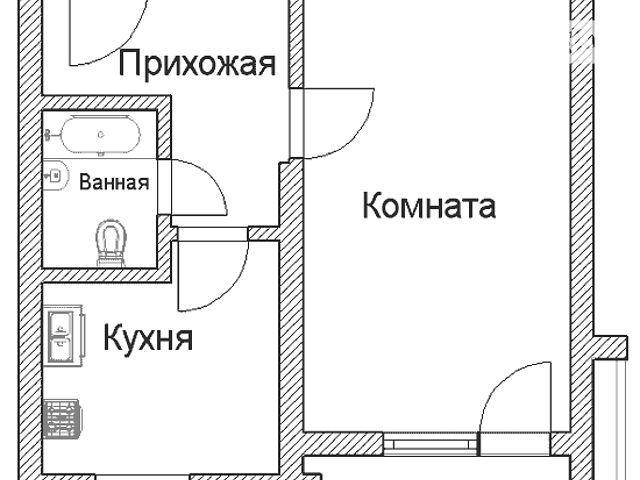 Продается 1-комнатная новая квартира по адресу маршала савиц.