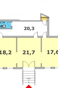 Продажа помещения свободного назначения, Черновцы, р‑н.Центр, Садоваяулица