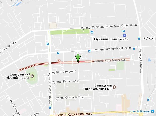 Петра Запорожця вулиця