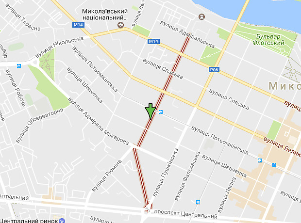 Наваринская улица