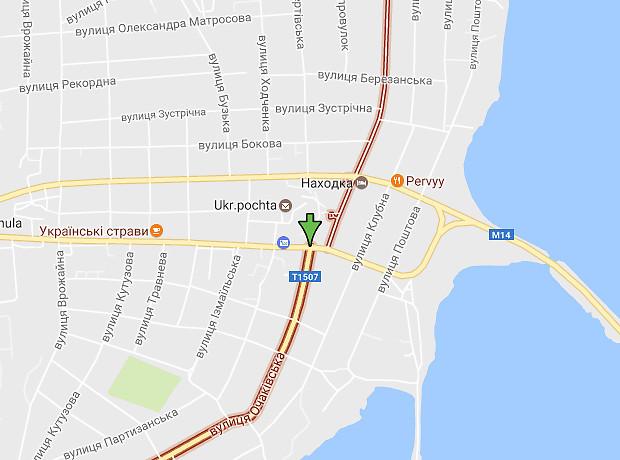 Очаковская (Варваровка) улица