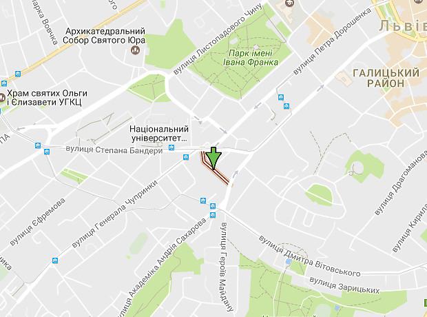 Вербицкого Михаила улица