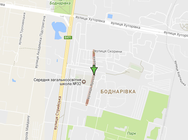 Гашека Ярослава улица