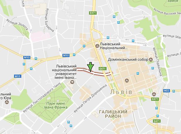 Гнатюка Академика улица