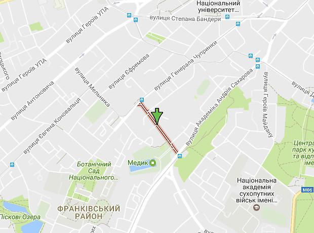 Горбачевского Ивана улица
