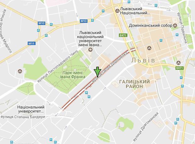 Дорошенко Петра улица