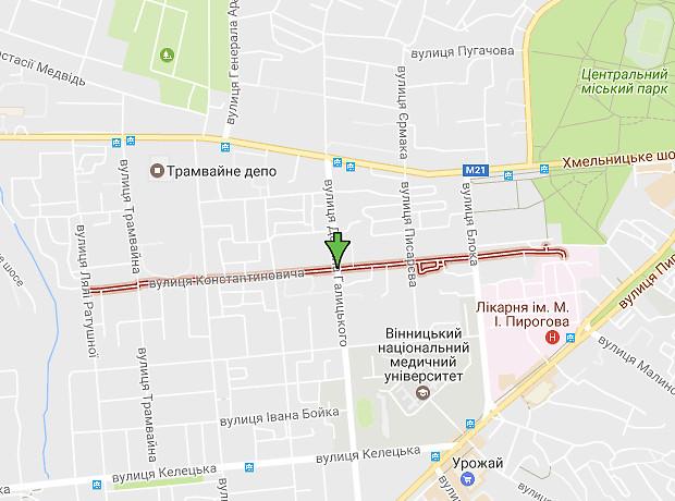 Константиновича улица