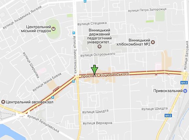 Коцюбинского проспект