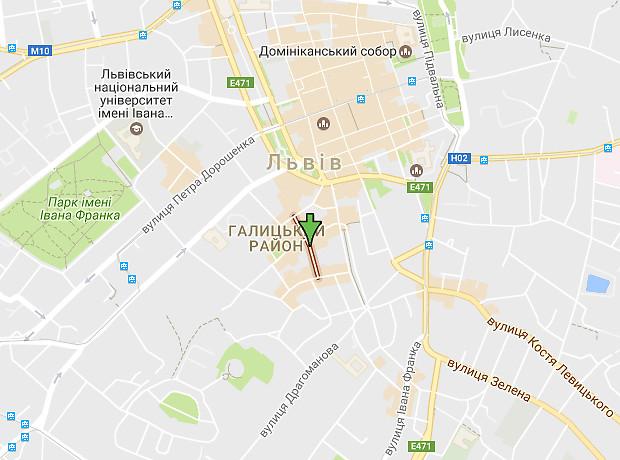 Ковжуна Павла  улица
