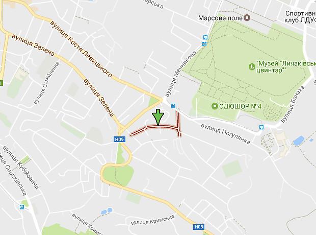 Коциловского улица