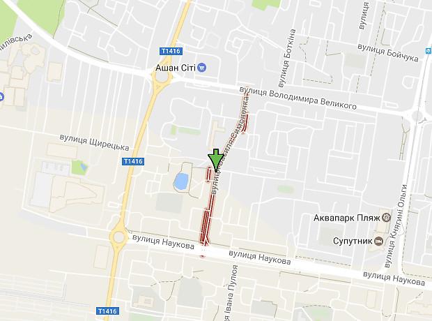 Симоненко Василия улица