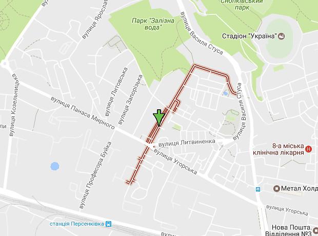 Тернопольская улица