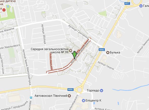 Чигиринская улица