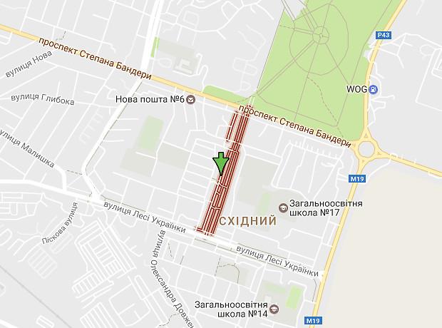 Галицького Данила бульвар