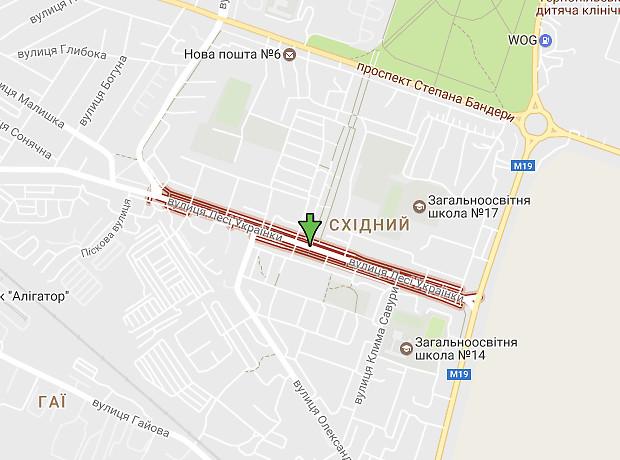 Леси Украинки улица