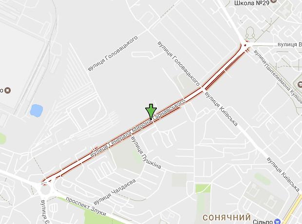 Тарнавского Мирона Генерала улица
