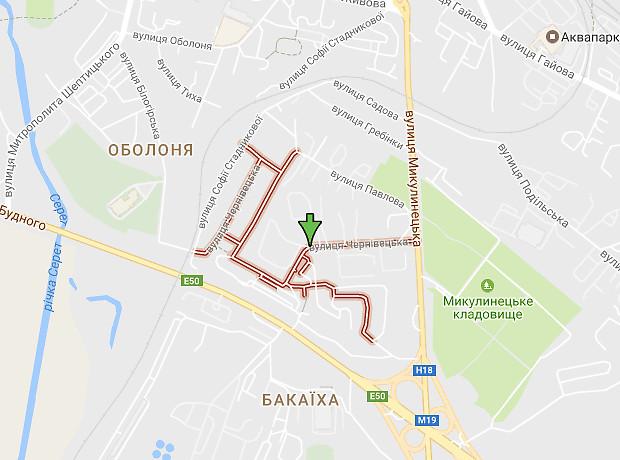 Черняховского Генерала улица