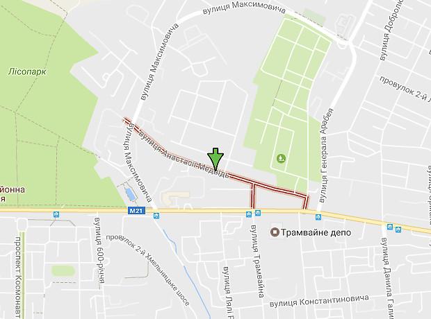 Анастасии Медведь улица