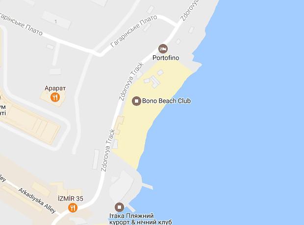 Аркадія пляж