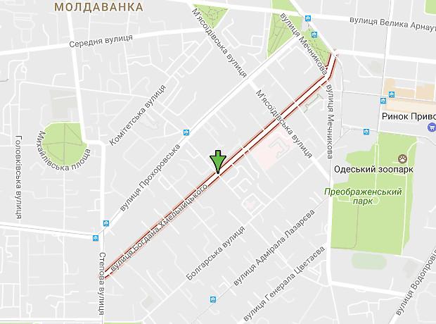 Богдана Хмельницкого улица