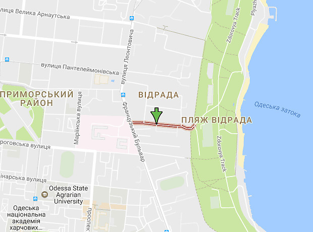 Вице-адмирала Азарова улица