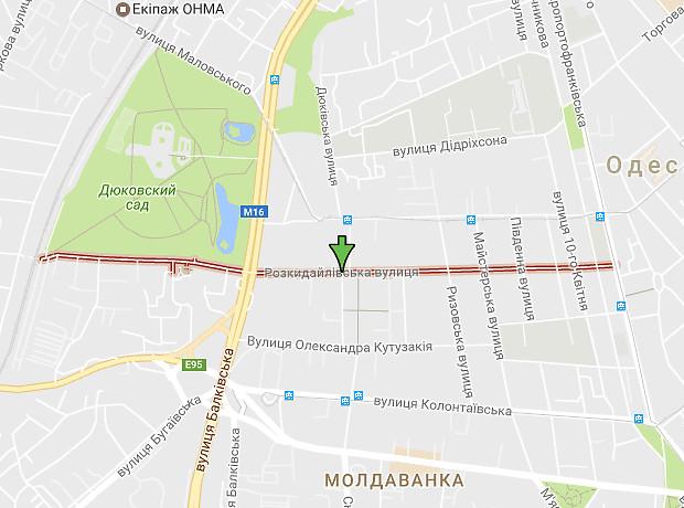 Раскидайловская улица