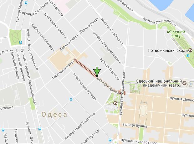 Садова вулиця