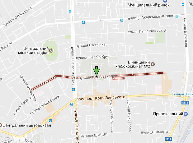 Острожского улица