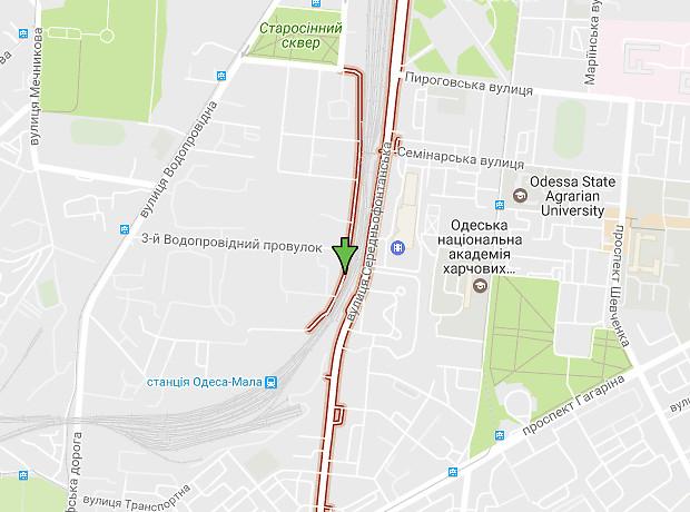 Среднефонтанская улица